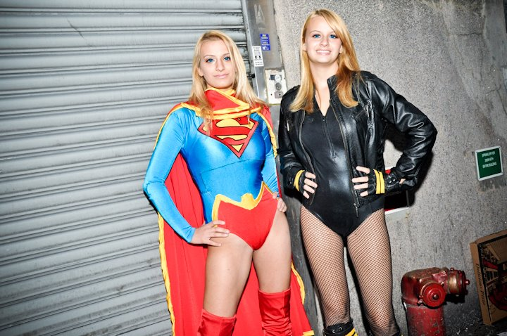 Black Canary Cosplay New 52 Supergirl and black canary Black Canary Birds Of Prey