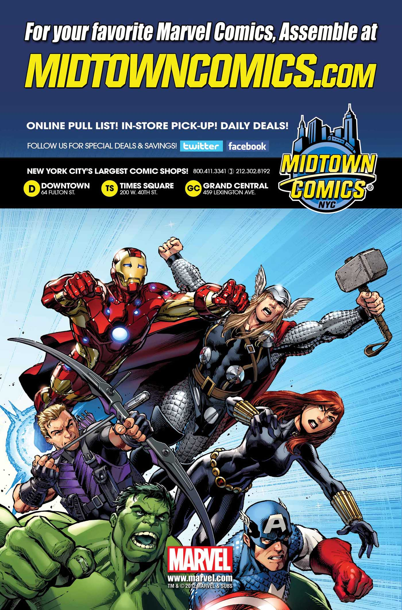 ... Assemble #1: The Midtown Comics Exclusive Covers Â« Midtown Comics