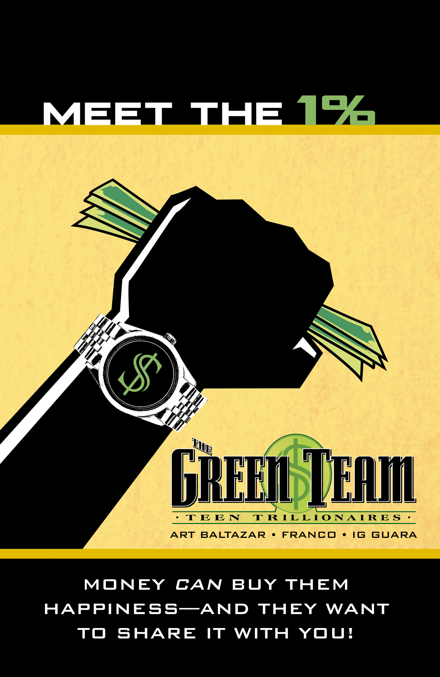 DC's Green Team #1 signing with FRANCO @ Midtown Comics Downtown | New York | New York | United States