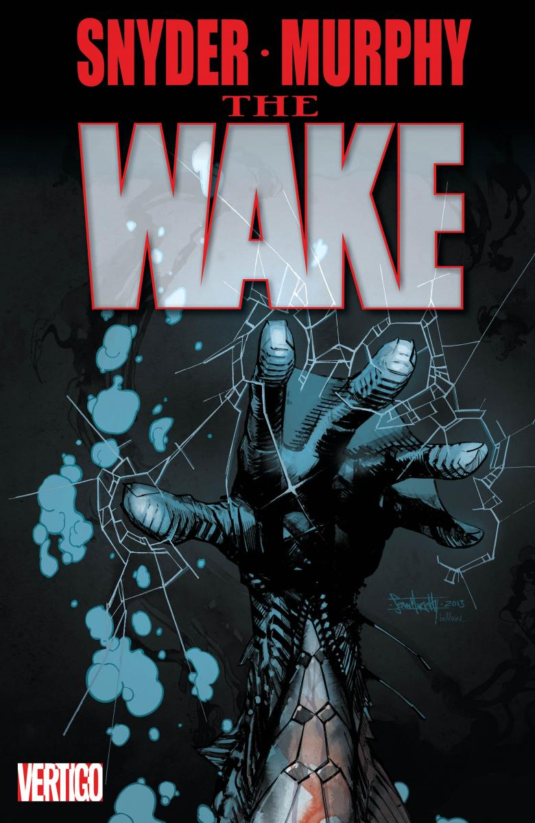 Scott Snyder and Sean Murphy signing The Wake #1 @ Midtown Comics Downtown | New York | New York | United States