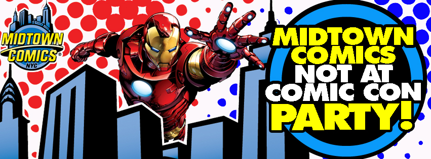 Midtown Comics Not At Comic Con Party!! @ Midtown Comics Downtown | New York | New York | United States