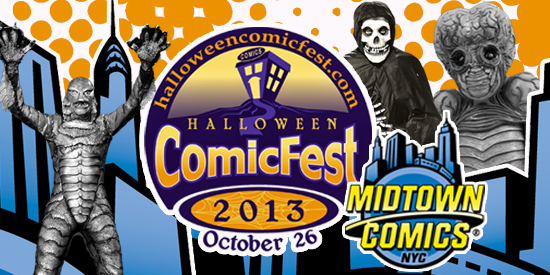 Halloween comic fest blog