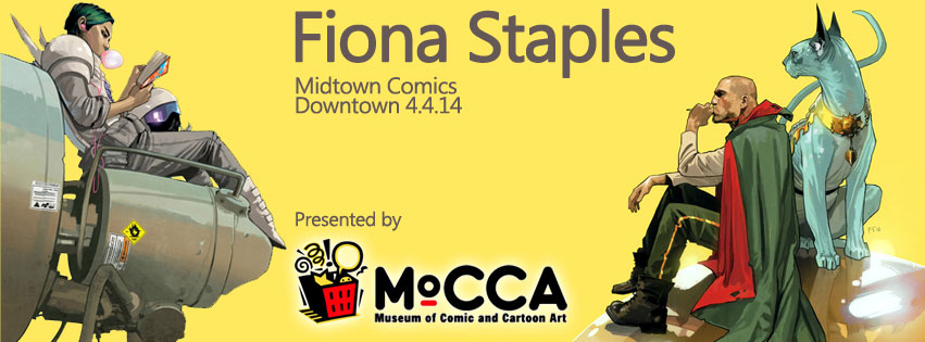 Saga artist Fiona Staples signing at Midtown Comics Downtown @ Midtown Comics Downtown | New York | New York | United States