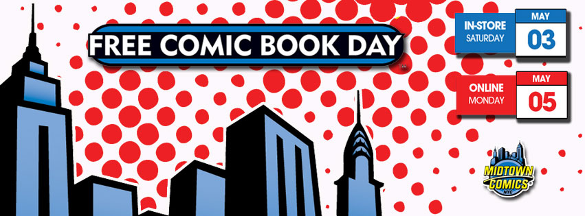 Free Comic Book Day 2014 - Online! @ www.midtowncomics.com
