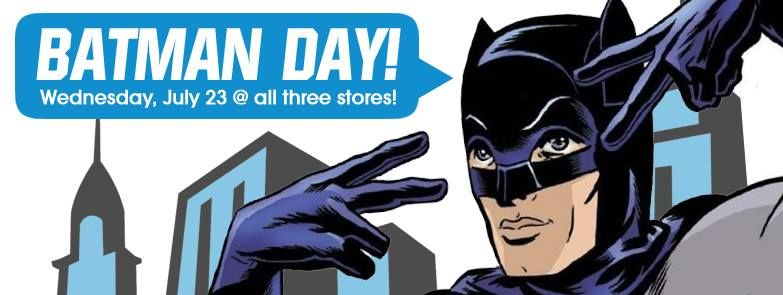 Midtown Comics Celebrates Batman Day!  @ All Midtown Comics Locations