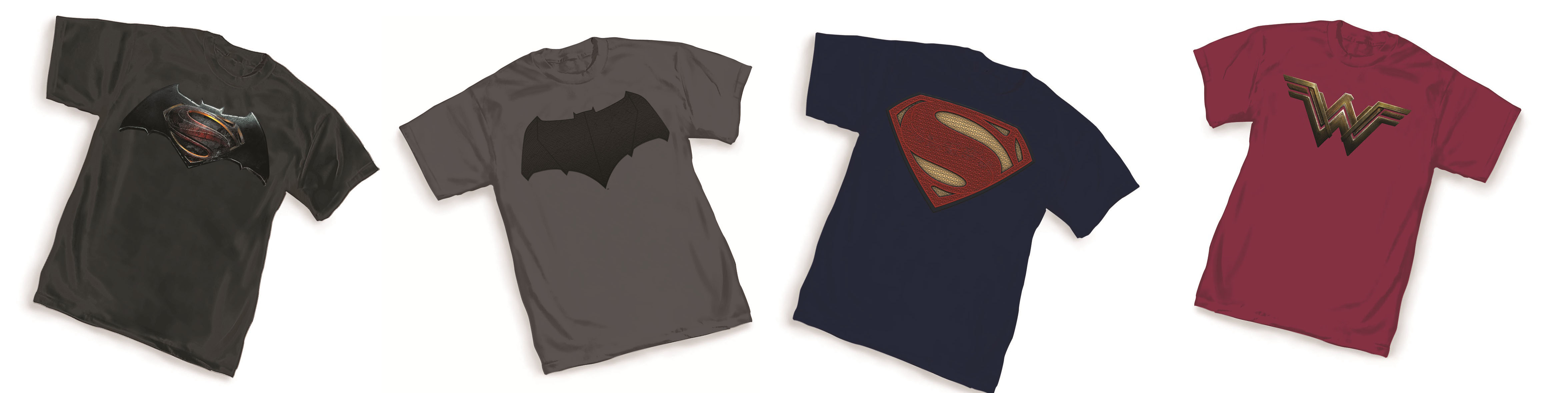 Batman v Superman movie t-shirts