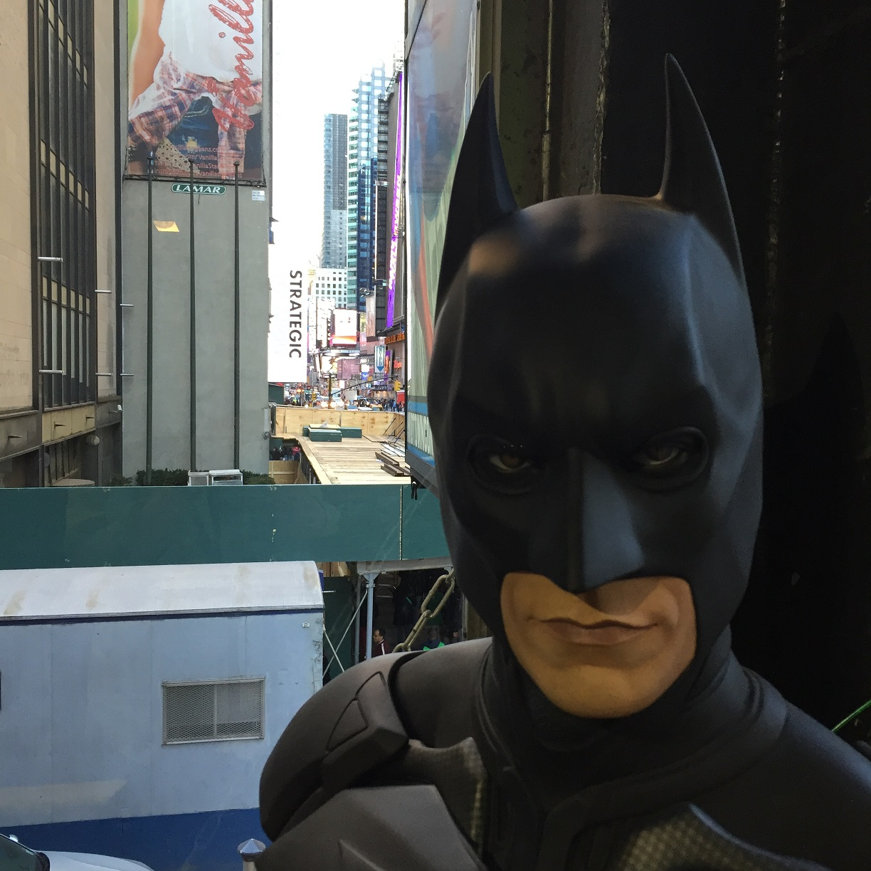 Batman New York Times Square