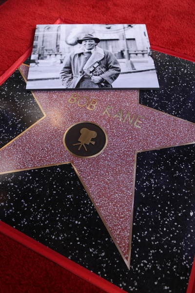 Bob Kane Batman Hollywood Walk of Fame