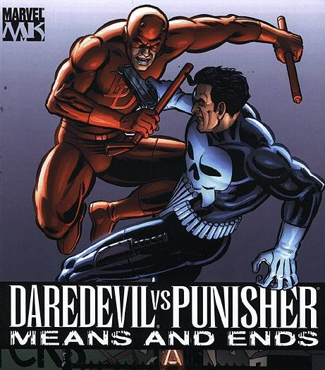 Daredevil vs Punisher comics