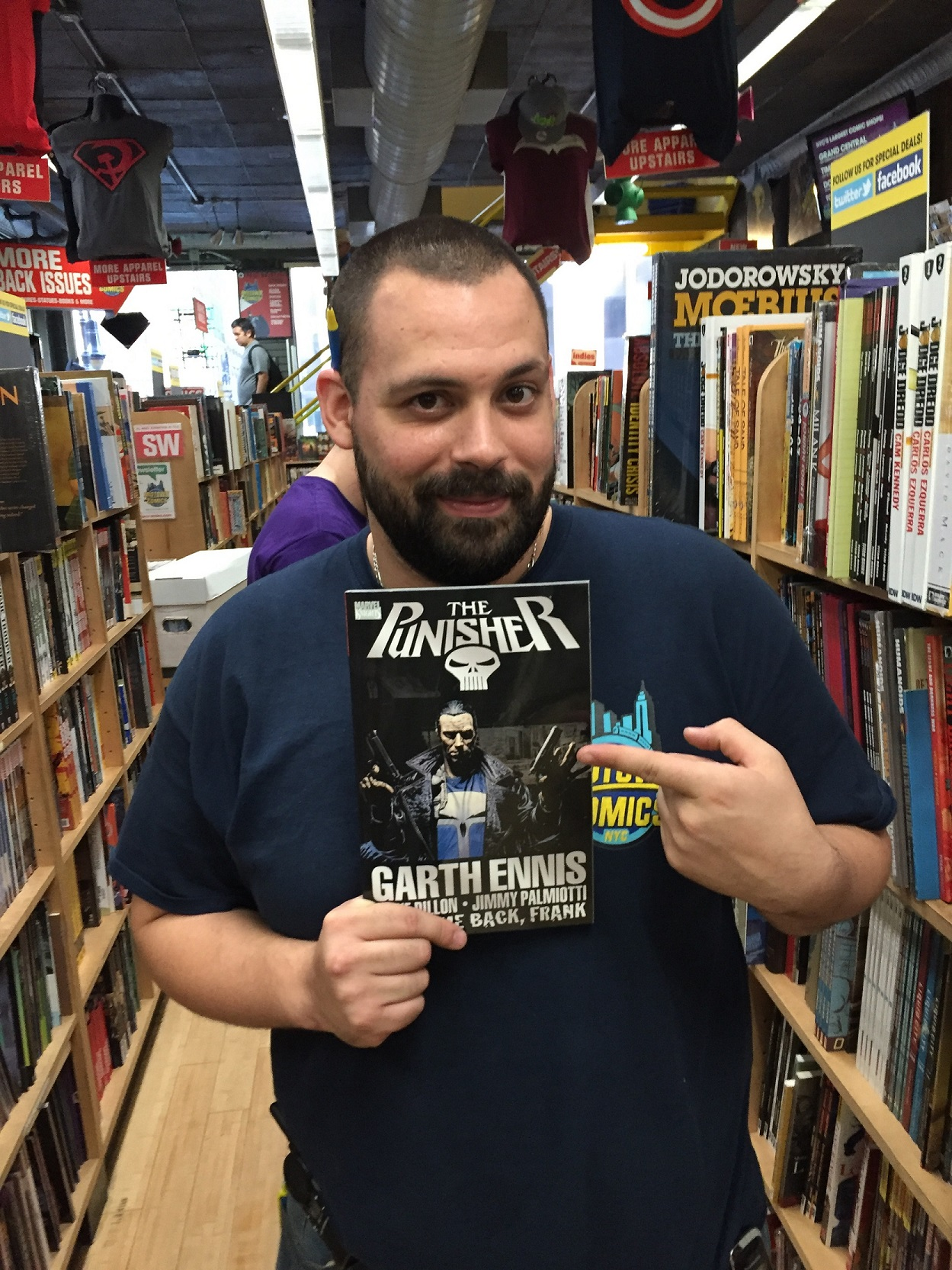 Punisher Welcome Back Frank comic