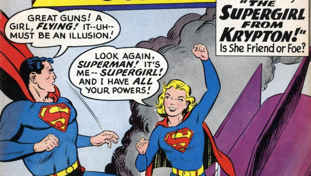 Supergirl Superman Action Comics