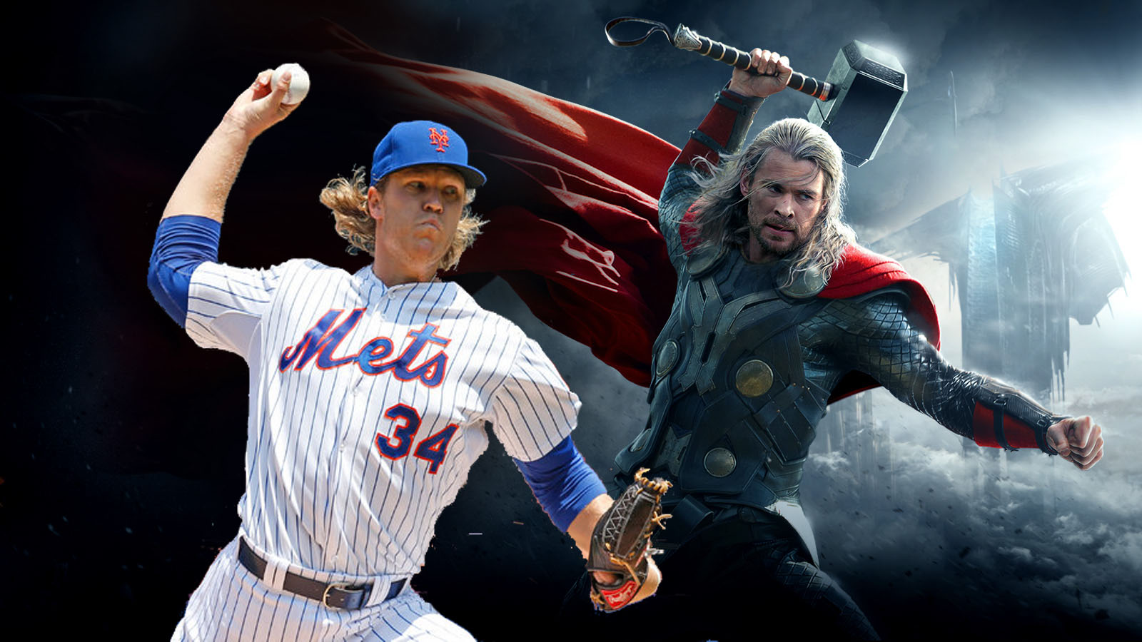 Thor Mets comics marvel