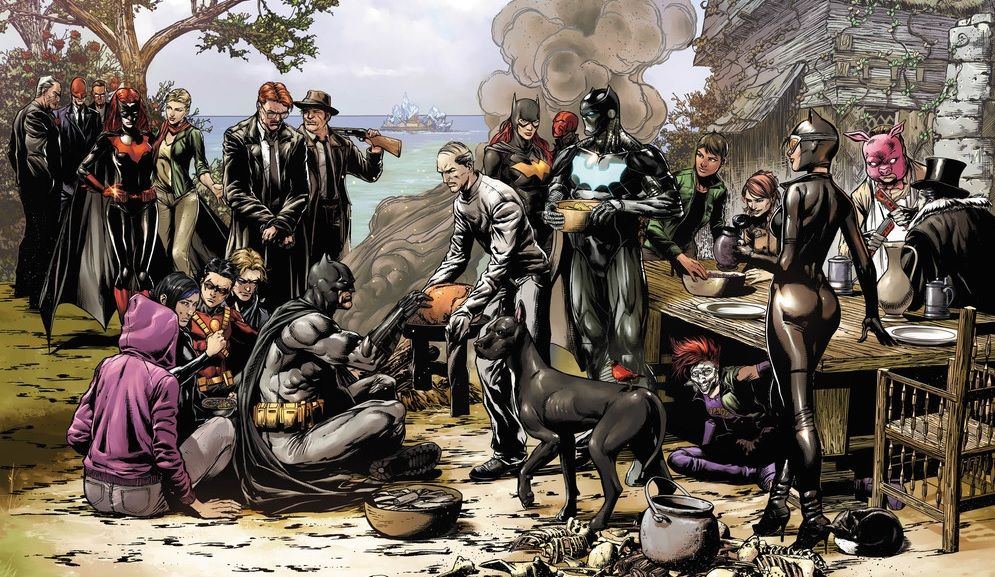 Batman Thanksgiving