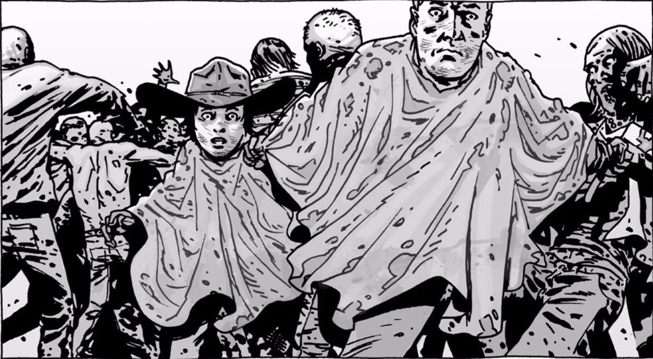 The Walking Dead Rick Carl Grimes comic