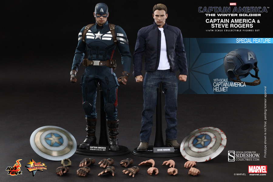 Captain America The Winter Soldier Hot Toys