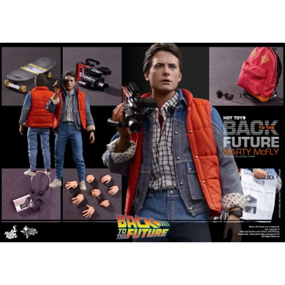 Marty McFly Hot Toys Back to the Future