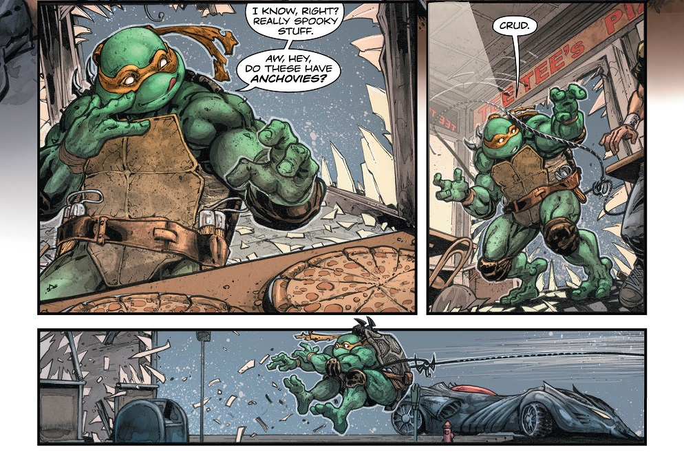 Batman Teenage Mutant Ninja Turtles