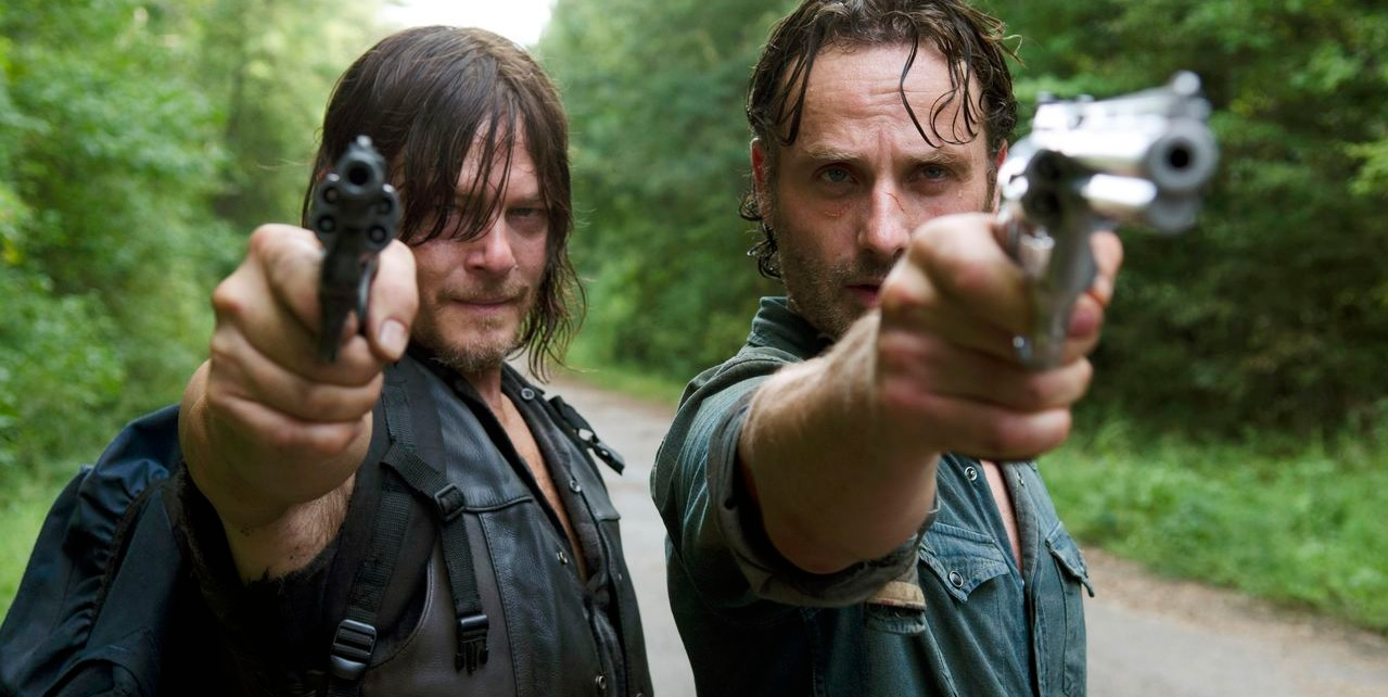 Rick Grimes Daryl Dixon The Walking Dead
