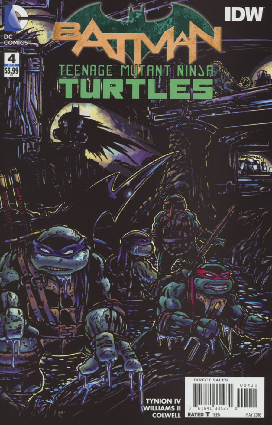 Batman TMNT Kevin Eastman
