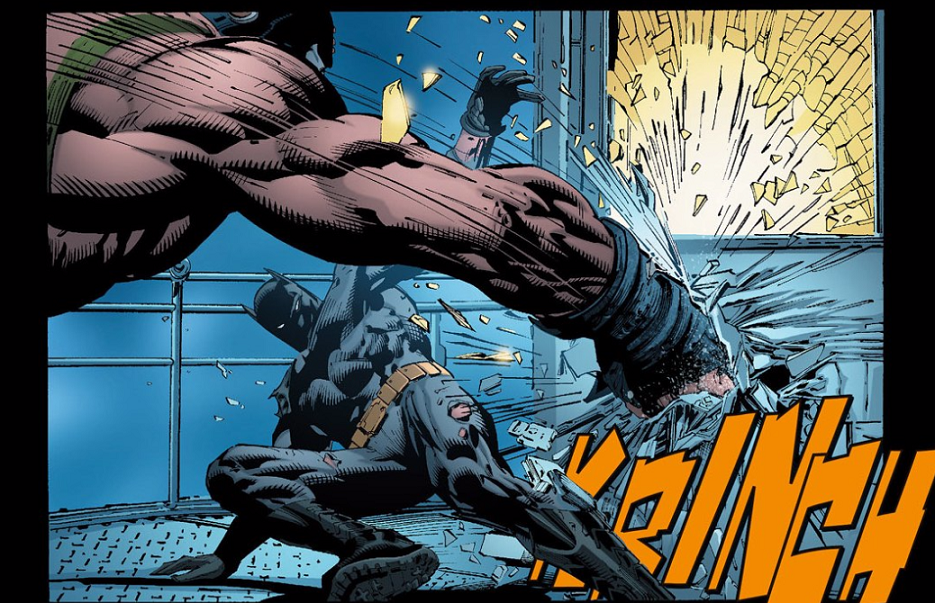 Artwork by David Finch, Richard Friend, and Jeromy Cox