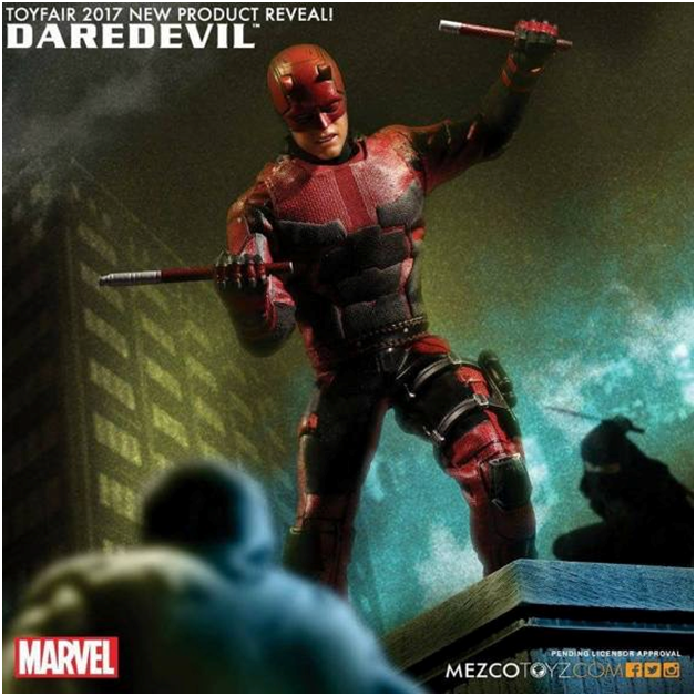Cannot wait for this NETFLIX DAREDEVIL!