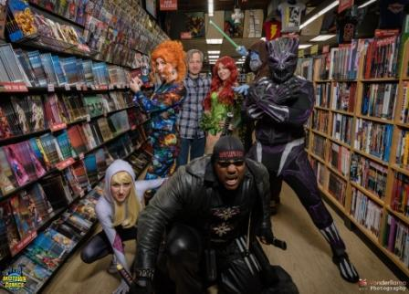 Cosplay at Midtown Comics Signings