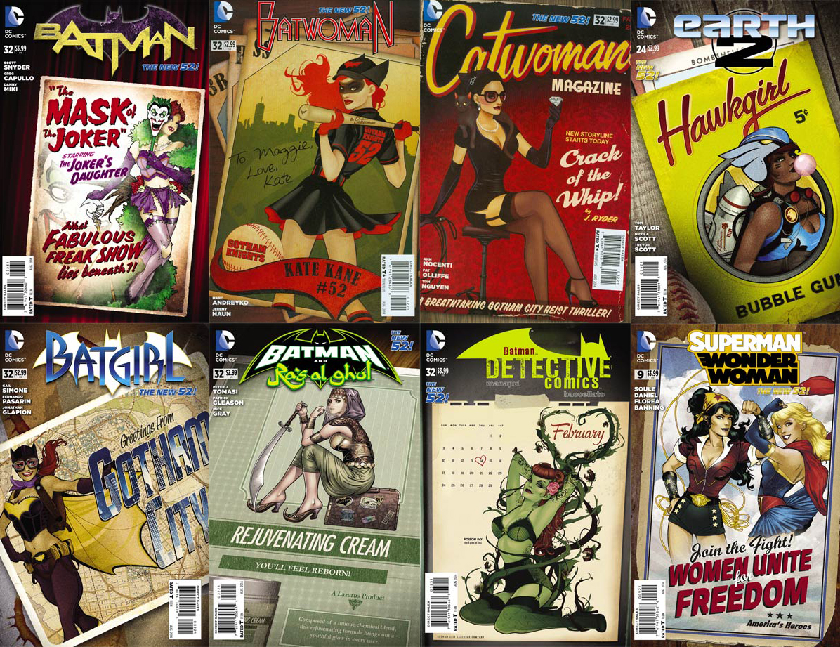 DC Bombshells Covers