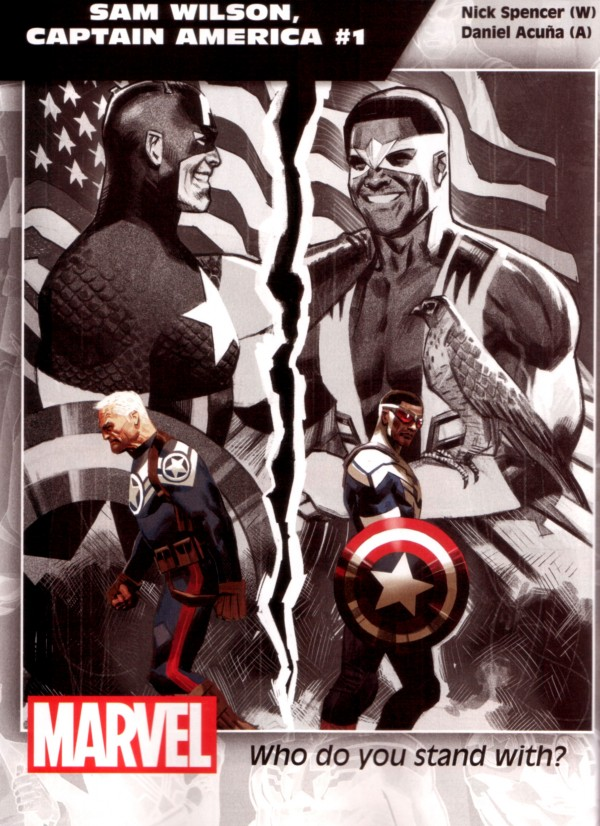 Sam Wilson, Captain America Midtown Comics