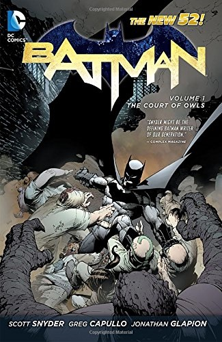 Batman comics Court of Owls