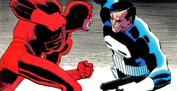 Daredevil Punisher comics