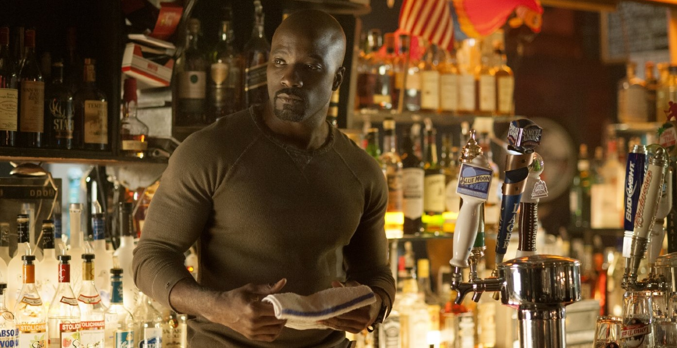 Jessica Jones Mike Colter Luke Cage Marvel Netflix