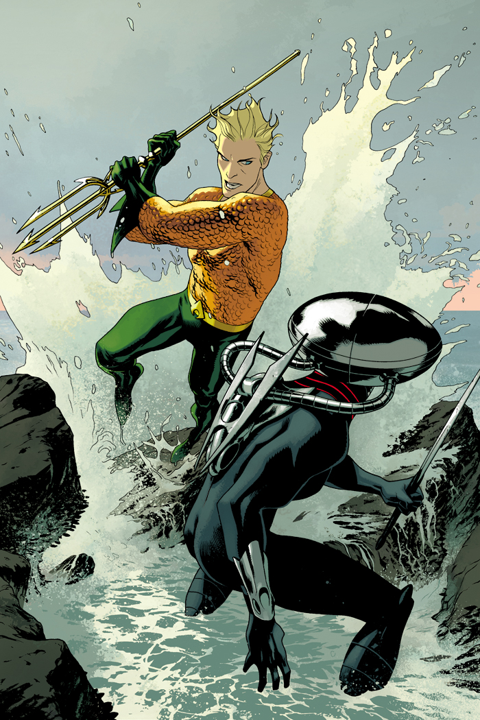 Midtown Comics Aquaman 3 Joshua Middleton (2)