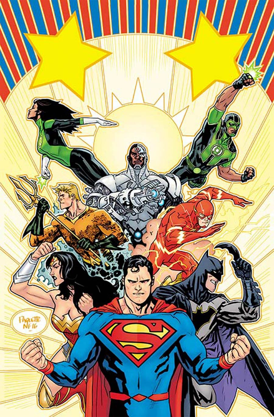 Midtown Comics Justice League 1 Yanick Paquette