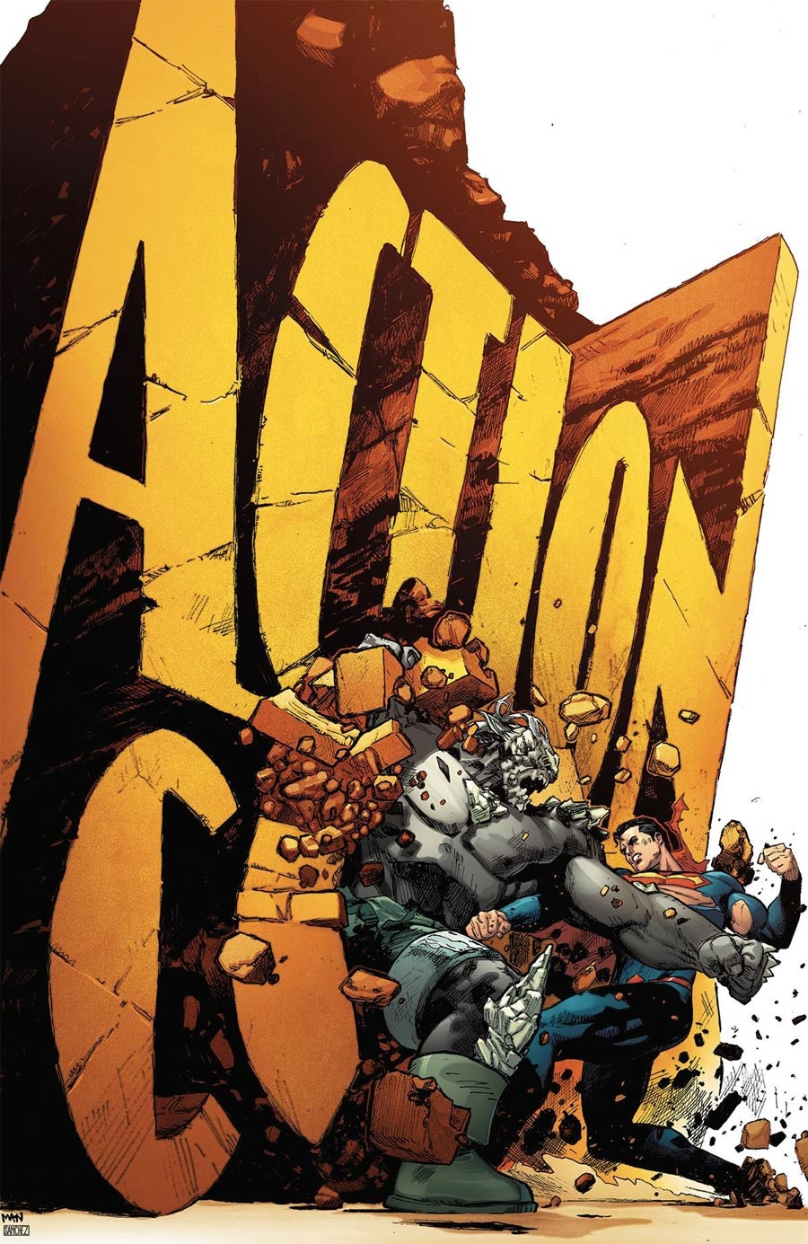 Midtown Comics Action Comics Clay Mann