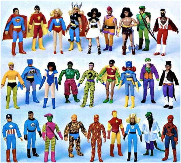 Old school MEGO figures.