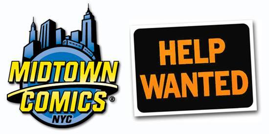 Marketing Job Midtown Comics