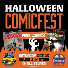 Halloween Comics Fest 2019 at Midtown Comics FREE COMICS